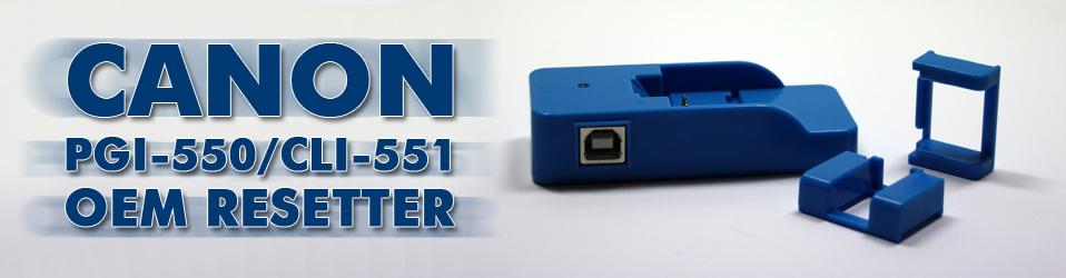 Canon PGI-550/CLI-551 OEM Resetter